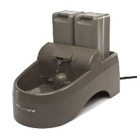 PetSafe Drinkwell Waterer Indoor Dog Fountain Fresh Filtered Water Bowl Drink