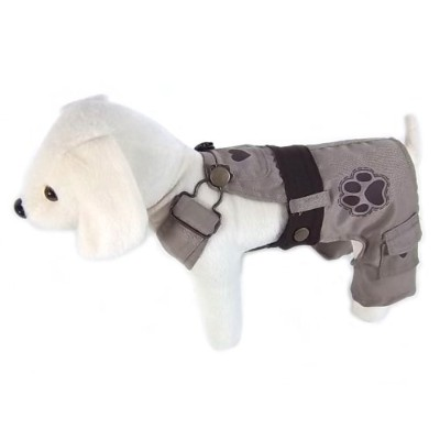 UP Collection Classic Dog Dress with Adjustable Snap Buttons, Beige, Large by UP Collection