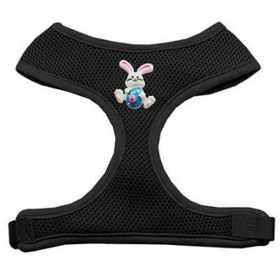 Mirage Pet Products 73-35 SMBK Easter Bunny Chipper Black Harness Small