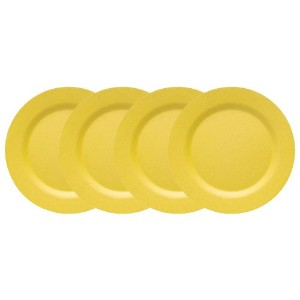 Now Designs Ecologie Dinner Plates イエロー COMINHKPR25308