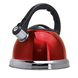 Better Chef 3-Liter Whistling Tea Kettle WTK-101 Red by Better Chef