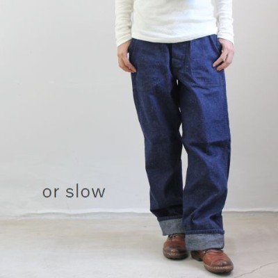 【5%・10%OFF】クーポン&P最大42倍お買い物マラソン7/14 20:00~7/21 01:59 or slow(オアスロー)US NAVY UTILITY PANTS made in...