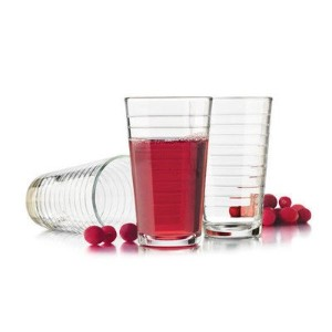Libbey Hoops Juice Glasses (Set of 4) by Libbey