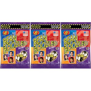 ジェリーベリー ビーン ブーズル 袋 Jelly Belly Beans Bean Boozled bag (4th edition) 1.9oz. (53g) を 3袋