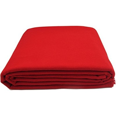 (1 Yard, Red) - Anti-Tarnish Silver Cloth - Pre-cut by the Yard - Red (1 Yard by 150cm)