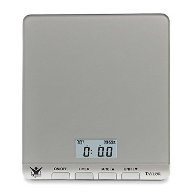 The Biggest Loser Glass Kitchen Scale by Taylor