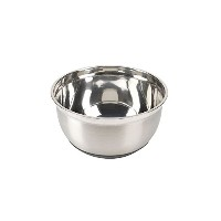 Bonny Culinary Stainless Steel with Rubber Base Bowl, 5-Quart [並行輸入品]