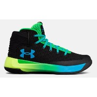 Under Armour Curry 3zer0 キッズ/レディース Black /Lime Twist アンダーアーマー バッシュ カリー3 ゼロ Stephen Curry ステフィン・カリー