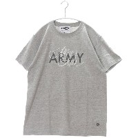 【SALE 50%OFF】アトモス atmos LAB(ARMY)PRINT S/S TEE (GRAY)