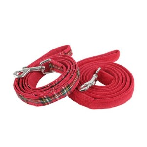 Puppia Santa Leash, Large, Red by Puppia