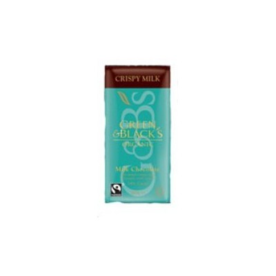 Green & Black's - Crispy Milk Chocolate - 100g