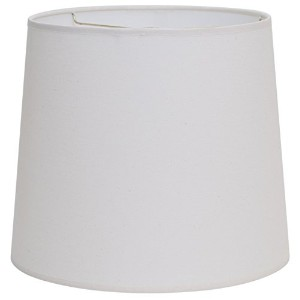 Deran 304-12-NA 12 hardback linen Drum Lamp Shade, 11 x 12 x 12, Natural by Deran Lamp And Shade