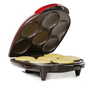 Holstein Housewares HU-09005R-M Arepa Maker, Metallic Red [並行輸入品]