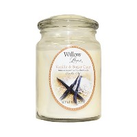 Candle-lite Willow Lane 19oz Jar with Soy Wax - Vanilla & Sugar Cane [並行輸入品]