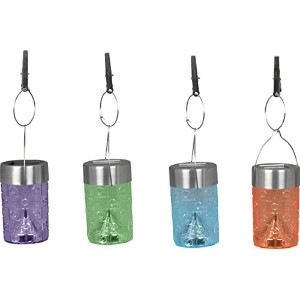 Moonrays 91280 Solar Party Umbrella Clip Lights, Multi Color (Pack of 8) [並行輸入品]