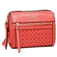 kate spade ケイトスペード Perri Lane Bubbles Looloo in Empire red red 赤 leather レザー 革 [並行輸入品]