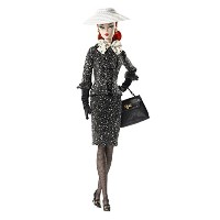 Barbie Black & White Tweed Suit Barbie Doll