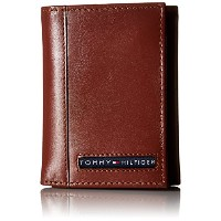 Tommy Hilfiger トミーフィルフィガー 財布 メンズ 財布 Men's Leather Ranger Pass case Wallet (Tan)