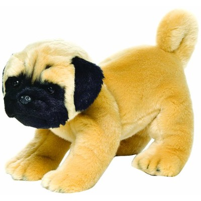 Nat and Jules Pug Plush Toy, Large by Nat and Jules