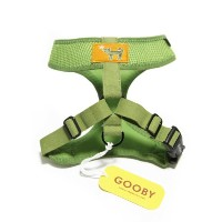 Gooby Choke Free Freedom Harness for Small Dogs, X-Large, Green by Gooby