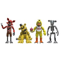 FIVE NIGHTS AT FREDDY'S 2 FIGURE 4PK PACK1