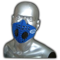 Respro City Anti Pollution Bike / Cycling Mask LRG Blue by Respro