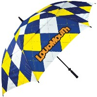 LoudMouth Umbrellas Houndstooth