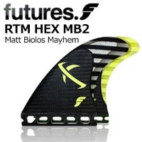 FUTUREFINS フューチャーフィン メイヘム FT1RTFMB202 RTM HEX MB2/CARBON LOST GRAPHIC