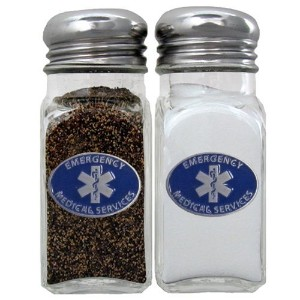Siskiyou Gifts EMS Salt and Pepper Shakers [並行輸入品]