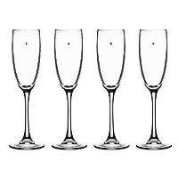 Cuisinart The Star's The Limit Collection Champagne Flute, Set of 4 [並行輸入品]