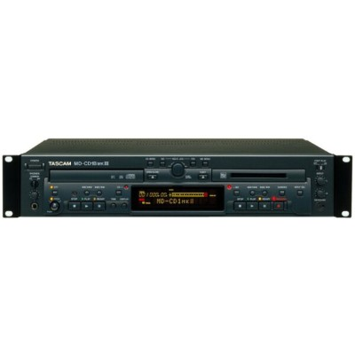 TASCAM CD PLAYER/MD RECORDER MD-CD1BMK 3 (バランス入出力装備)