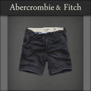 【20%OFFセール 4/21 10:00~4/24 09:59】 アバクロ Abercrombie&Fitch 正規品 メンズ ショートパンツ SHORT PANTS SHORTER FIT...