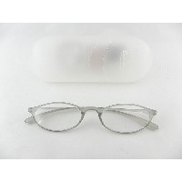 [BelleetClaire 老眼鏡] ベルエクレール 老眼鏡 92344-フィッツ-グレー+2.50 新品 めがね メガネ ケース付 ギフト 誕生日 勤労 正規品