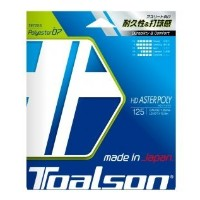 TOALSON(トアルソン)  テニスストリング  HD ASTER POLY 125  ブルー  硬式ガット  7472510B