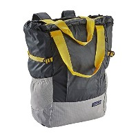 PATAGONIA パタゴニア トートバッグ LIGHT WEIGHT TRAVEL TOTE 22L Forge Grey Chrom Ylw (FGCY) ライトウェイト トラベル トート...