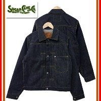 (★クーポン発行)SUGAR CANE/シュガーケーン Made in USA 「12.5oz Dead Stock Cone Denime DENIM JACKET WW2 MODEL」...