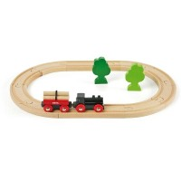 BRIO ブリオ 木製 レールセット 小さな森の基本レールセット 木のおもちゃ 電車 子供 誕生日プレゼント 誕生日 男の子 男 出産祝い 3歳 4歳 5歳  列車 ギフト 北欧 おもちゃ 三歳...
