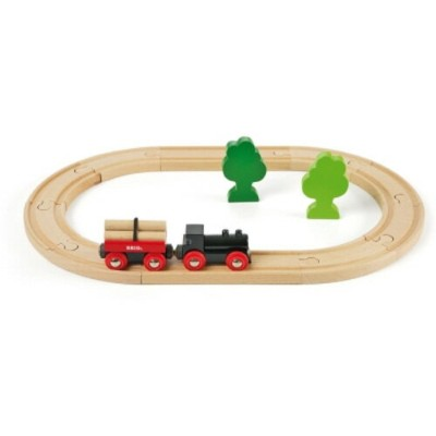 BRIO ブリオ 木製 レールセット 小さな森の基本レールセット 木のおもちゃ 電車 子供 誕生日プレゼント 誕生日 男の子 男 出産祝い 3歳 4歳 5歳 |列車 ギフト 北欧 おもちゃ 三歳...