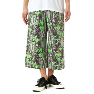 【SALE/セール】PHENOMENON(フェノメノン) / Camouflage 9/10 Length Wide Pants (Camouflage 9/10 Length Wide Pants...