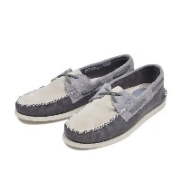 【SPERRY TOPSIDER】 スペリートップサイダー A/O 2-EYE WEDGE SUEDE(W) オーセンティック・オリジナル ウェッジ スウェード STS13163 CHARCOAL...