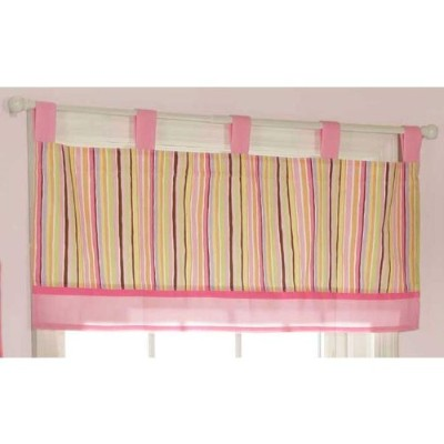 Bubblegum Jungle Window Valance by Bananafish by Bananafish