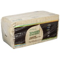 Seventh Generation, 100% Recycled Paper Napkins, 1 Ply, 500 Napkins, 11.5 in x 13.0 in (29.2 cm x...