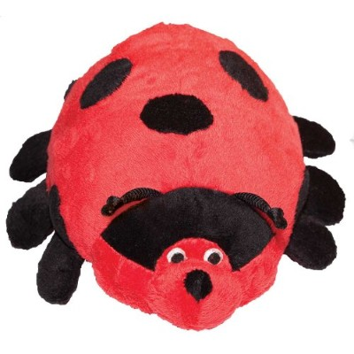 Patchwork Pet Pond Hoppers Ladybug 14-Inch Squeak Toy for Dogs by Patchwork Pet