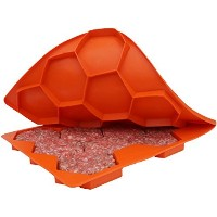 Shape+Store Burger Master Sliders 10 in 1 Innovative Burger Press and Freezer Container, 10-Patty,...