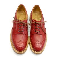 Tricker's Bourton Red Calf Double Leather Sole: トリッカーズ バートン レッドカーフ ダブルレザーソール