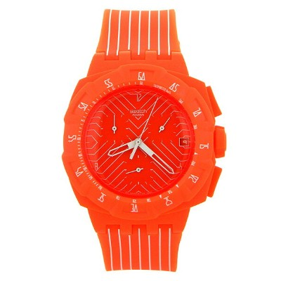 SUIO400 CHRONO PLASTIC 【FLASH RUN】 SWATCH スウォッチ 時計