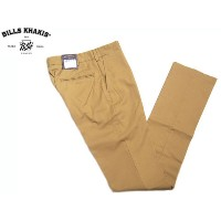 BILLS KHAKI (ビルズカーキ) /#M3 TRIM FIT PLAIN FRONT ORIGINAL TWIILL CHINO/BRITISH KHAKI