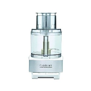 [海外直送品/並行輸入品] Cuisinart DFP-14BCWNY 14-Cup Food Processor, Brushed Stainless Steel, White