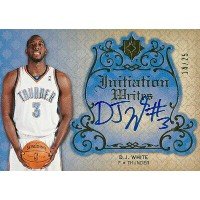 D.J.・ホワイト NBAカード D.J. White 08/09 Ultimate Collection Initiation Writes 14/25