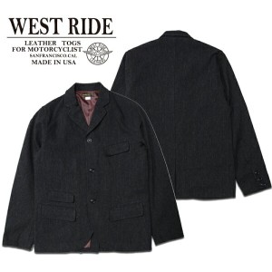 【WESTRIDE ウエストライド】ジャケット/15FW THICK RIDE JKT ★送料・代引き手数料無料!REAL DEAL